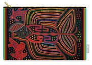 Kuna Indian Flying Fish  Carry-all Pouch
