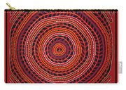Kuna Indian Sun Universe Carry-all Pouch