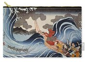Kuniyoshi: Oban Print Carry-all Pouch
