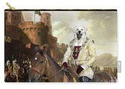 Kuvasz Art Canvas Print - The Enchanted Forest Carry-all Pouch
