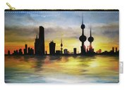 Kuwait City Sunset From The Bay Carry-all Pouch