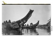 Kwakiutl Canoes, C1914 Carry-all Pouch by Granger