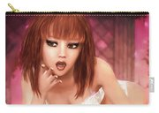 Kylie - Cute And Sassy - Fantasy Painting Carry-all Pouch