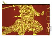Kylo Ren - Star Wars Art - Red And Yellow Carry-all Pouch