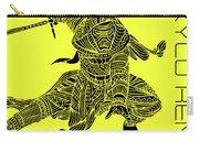 Kylo Ren - Star Wars Art - Yellow Carry-all Pouch