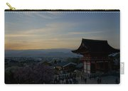 Kyoto And Kiyomizu-dera At Sunset Carry-all Pouch