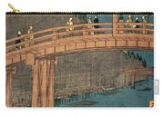 Kyoto Bridge By Moonlight Carry-all Pouch
