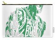 Kyrie Irving Boston Celtics Pixel Art 42 Carry-all Pouch