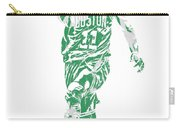 Kyrie Irving Boston Celtics Pixel Art 43 Carry-all Pouch