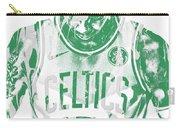 Kyrie Irving Boston Celtics Pixel Art 5 Carry-all Pouch