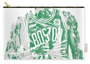 Kyrie Irving Boston Celtics Pixel Art 7 Carry-all Pouch