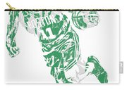 Kyrie Irving Boston Celtics Pixel Art 9 Carry-all Pouch
