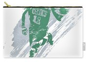 Kyrie Irving Boston Celtics Water Color Art 4 Carry-all Pouch