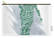 Kyrie Irving Boston Celtics Water Color Art Carry-all Pouch