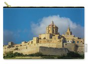 L-imdina Castle City Cathedral And Walls Carry-all Pouch