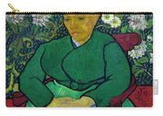 La Berceuse, Portrait Of Madame Roulin, 1888-1889, Kroller-mulle Carry-all Pouch