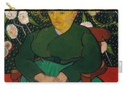 La Berceuse. Woman Rocking A Cradle. Augustine-alix Pellicot Roulin Carry-all Pouch