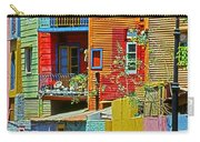 La Boca - Buenos Aires Carry-all Pouch by Juergen Weiss