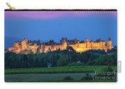 La Cite Carcassonne Carry-all Pouch by Brian Jannsen