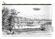 La France Airship, 1884 Carry-all Pouch