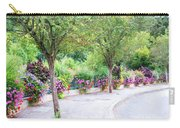 La Gacilly, Morbihan, Brittany, France, Streetscape Carry-all Pouch