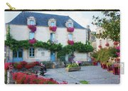 La Gacilly, Morbihan, Brittany, France, Town Hall Painting Carry-all Pouch