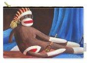 La Grande Sock Monkey Carry-all Pouch