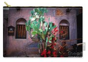 La Hacienda In Old Tuscon Az Carry-all Pouch by Susanne Van Hulst
