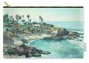 La Jolla Cove In December, La Jolla, San Diego, California Carry-all Pouch