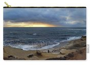 La Jolla Shores Beach Panorama Carry-all Pouch