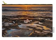 La Jolla Tidepools Carry-all Pouch by Peter Tellone
