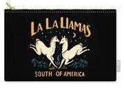 La La Llamas Carry-all Pouch