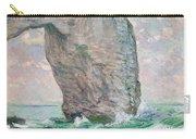 La Manneporte A Etretat Carry-all Pouch by Claude Monet
