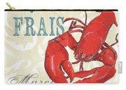 La Mer Shellfish 2 Carry-all Pouch by Debbie DeWitt