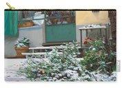 La Neve A Casa Carry-all Pouch by Guido Borelli