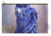 La Parisienne The Blue Lady  Carry-all Pouch