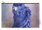 La Parisienne The Blue Lady  Carry-all Pouch by Pierre Auguste Renoir