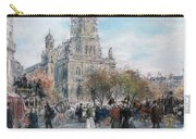 La Place De Trinite Carry-all Pouch by Jean Francois Raffaelli