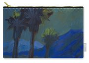 La Quinta Cove And Moonlight Carry-all Pouch