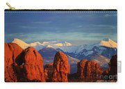 La Sal Mountains In Arches Np Utah Carry-all Pouch