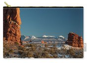 La Sal Mountains Carry-all Pouch