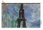 La Tour Eiffel By Taikan Carry-all Pouch