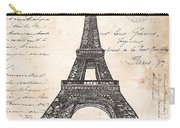 La Tour Eiffel Carry-all Pouch