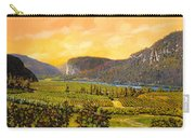 La Vigna Sul Fiume Carry-all Pouch by Guido Borelli