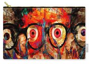 Label The Brain Through The Eyes - Lords Of Madness Carry-all Pouch