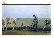 Labourer And Peasant  Carry-all Pouch by Vincent van Gogh