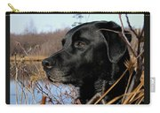 Labrador Retriever Waiting In Blind Carry-all Pouch