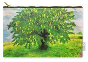 Laburnum Tree In Splendid Isolation Carry-all Pouch