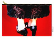 Lace Dress Uneven Heels Carry-all Pouch