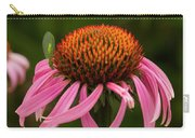 Lacewing On Echinacea Blossom Carry-all Pouch